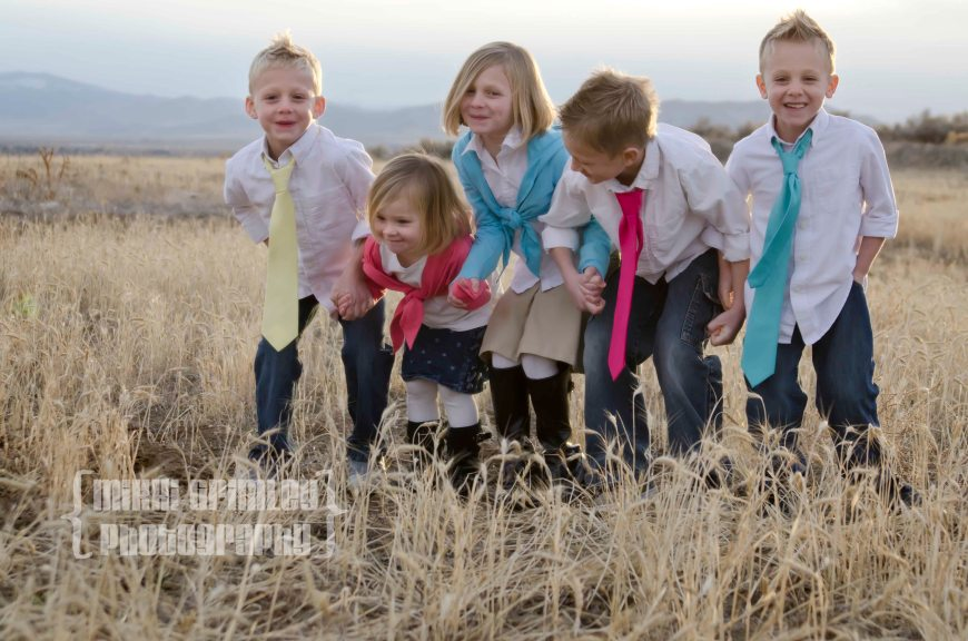 My five kids being so silly during our family photo shoot. Such a pure picture of what it is like to be a child.